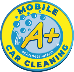 A+ Car Cleaning Logo