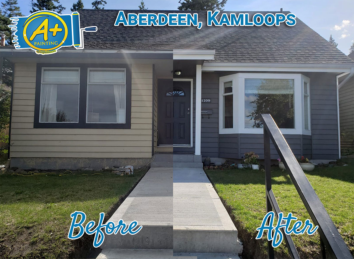 Aberdeen Kamloops home painting