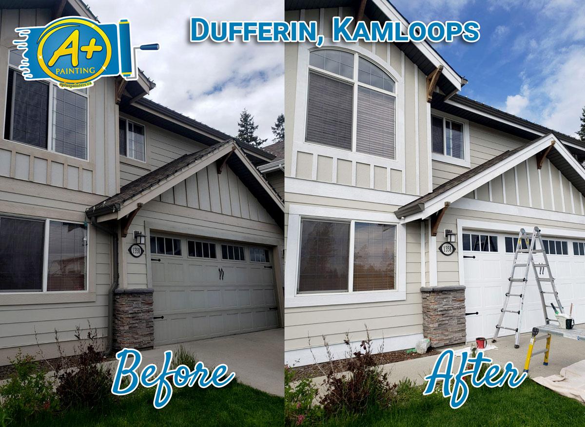 Dufferin Kamloops painting