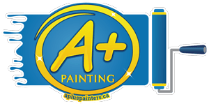 A plus painters logo